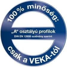 """""""A"""" osztályú VEKA profilok"""