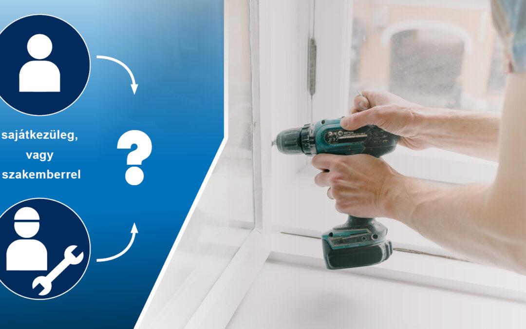 A műanyag ablakok javítása: mikor érdemes szakemberre bízni?